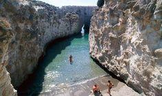 The Sea Caves of Papafragas, Milos, Cyclades