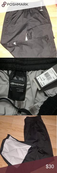 Adidas climaproof golf pants New size Large (mens) adidas Pants Sweatpants & Joggers