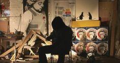 """Imagem do documentário """"Exit Through The Gift Shop"""", do Banksy"""
