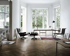 Design Geek Presents the Eames Lounge on About Interior Decorating by AphroChic