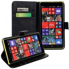 Flip Leather Case Cover For Nokia Lumia 1520