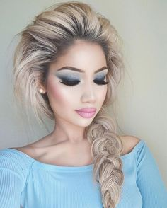 """Real life Elsa @makeupbyalinna  wearing 3D @LillyLashes in style """"Alina"""" exclusively designed by her   #GhalichiGlam #LillyLashes #LillyGhalichi"""