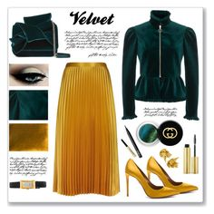 """""""emerald"""" by mariarty ❤ liked on Polyvore featuring Whistles, The Row, N°21, Tim Holtz, AERIN, Gucci, NARS Cosmetics and Trish McEvoy"""