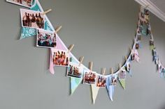 What a great timeline for a family reunion, anniversary or birthday party