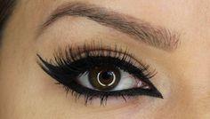 FIlmpje: Ik vind dit kunst omdat ik het heel mooi vind. Ik draag zelf ook eyeliner en ik vind het kunst dat je zoveel kan met eyeliner. Als ik zoiets zie wil ik het zelf ook altijd proberen.