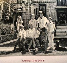 La felicitación navideña de Pablo y Marie Chantal de Grecia y sus hijos
