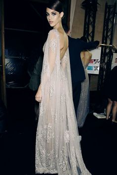 elie saab couture autumn/winter 2014 This would make a beautiful wedding dress.