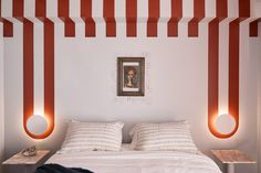 Visit Finally A DIY Anyone With A Paint Brush Can Do: A Series Of The Best Paint Ideas On The Internet at Emily Henderson Sacher Wien, Henrietta Hotel, Plywood Interior, Urban Outfitters Home, Big Design, Cool Paintings, Ceiling Design, Wall Design, House Design