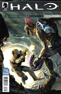 """""""Halo: Escalation #18 brings about the end to yet another story arc that adds to the always growing Halo Universe with every passing issue with a worthwhile character joining the ranks of the Spartan IVs."""" -Geeked Out Nation on Halo Escalation #18"""