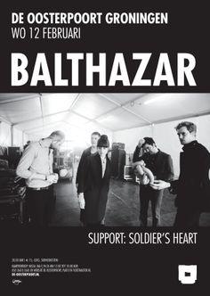 Balthazar is een jonge en frisse indierockband uit België. Ze zetten de eerste stappen richting hun doorbraak met het debuutalbum 'Applause' (2010). Ondertussen wordt Europa stukje bij beetje veroverd. De ijzersterke live performance zorgt ervoor dat de band overal een graag geziene gast is. In 2012 verscheen het tweede album 'Rats'
