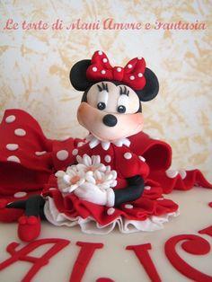 Torta decorata Minnie