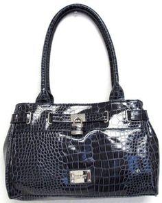 Women's Nine West Purse Handbag Somerset Dark Blue,