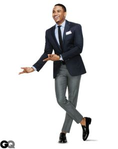 www.cooganlondon.com How To Wear Gray Pants - A gray trouser can be paired with…