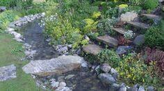 Bei der Anlage eines Steingartens gibt es verschiedene Regeln. Lassen Sie sich bei der Anordnung von Steinen und Pflanzen von uns helfen.