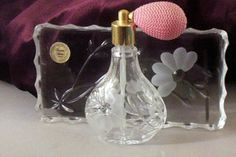 Princess House Collectors | Princess House Crystal Perfume Atomizer & Vanity Tray - Heritage from ...