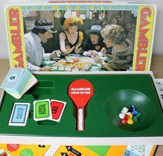 Vintage Gambler Board Game Parker Brothers 1975 by MillyCatVintage