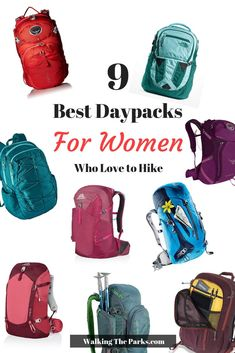 Best Daypacks for Women Selecting a new great womans daypack for hiking out of the hundreds of choices can be quite the challenge Read on to see our top selections that. Hiking Day Pack, Hiking Bag, Hiking Shoes, Hiking Tips, Hiking Packs, Hiking Food, Best Hiking Gear, Day Hike, Best Hiking Backpacks
