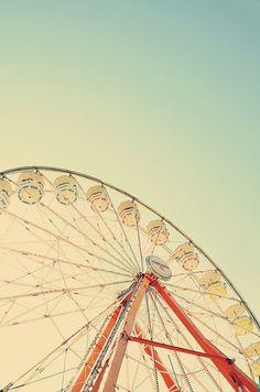 ahhhh the ferris wheel