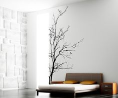I like the realisic and the simplistic design.   Vinyl Wall Decal Sticker Bare Tree AC223s Stickerbrand http://www.amazon.com/dp/B008RLEFMS/ref=cm_sw_r_pi_dp_ppUYtb1SJ60N7NVV