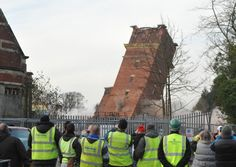 Demolition of hellingly hospital. Found on web