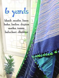 Treat yourself with fine cottons & silks from the #bengal. Special collection from #byloom also available at store. #khadi #muslin #dhakkai #baluchari #linen #makeinindia #handloom #100sareepact #handloom #fashion #saree #pompom #vijayawada #amaravati