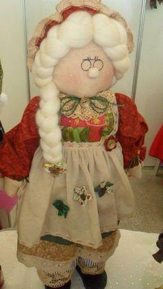 Boneca Mamãe Noel Country