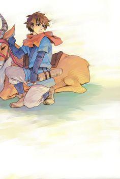 Princess Mononoke — Ashitaka and Yakul Studio Ghibli Art, Studio Ghibli Movies, Pixar, Nausicaa, The Cat Returns, Howls Moving Castle, My Neighbor Totoro, Cool Animations, Hayao Miyazaki