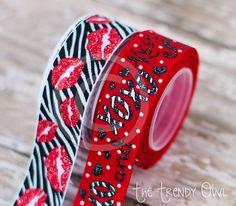 Valentine's Day <3 Shop our Designer Ribbon now @ www.thetrendyowl.com
