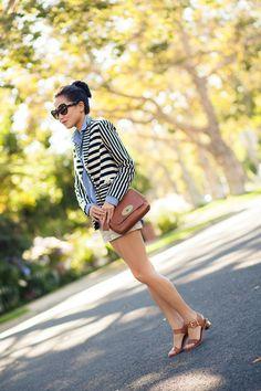Weekend Comfort :: Chambray & Metallic heels : Wendy's Lookbook
