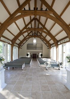 Wedding Chapel In Houston Timber Trusses Weddingstyle Www Texastimberframes Https