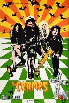The Cramps New Fillmore