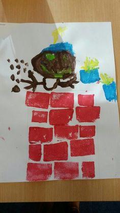 schoorsteen sinterklaas knutselen - Google Search Preschool Crafts, Crafts For Kids, Arts And Crafts, Diy Crafts, Minnie Mouse, Anna, Creative Teaching, Xmas, Christmas
