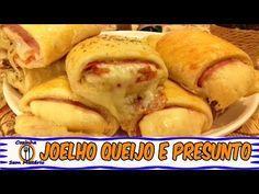 RECEITA DE JOELHO DE QUEIJO E PRESUNTO ( ENROLADINHO) - YouTube