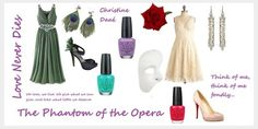 Outfit inspired by Christine (Phantom of the Opera)