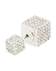 My Double Crystal Cube Earring love them I have these. Best Mom, Cube, Decorative Boxes, Stud Earrings, Crystals, My Style, Gifts, Jewelry, Presents