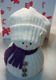 Sněhulák z ponožek | Ženský club