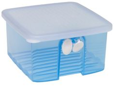 Tupperware Fridgesmart, Small by Tupperware. $7.00. Dishwasher-safe; not safe for microwave use. 6 by 6 by 3-1/2 inches; full lifetime warranty. Built-in grid lifts food away from condensation. 4-1/2-cup capacity FridgeSmart container. Adjustable venting system to keep food in peak condition. Broccoli, peas, peppers, oranges - virtually any fresh-picked produce will last longer and taste better stored in FridgeSmart containers, our newest and best kitchen innovation ev...