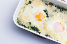 Spinat-Eier mit Parmesan // marsmaedchen.net