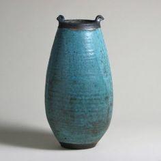 Large Bird Vase by Otto Heino 1997