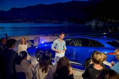 David Gandy in Montenegro presenting new Jaguar    15/04/16