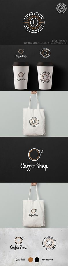 What do you think about these two ads for coffee?