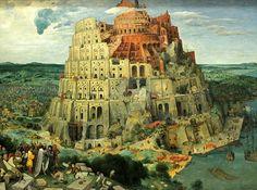 La torre de Babel. (Bruegel 1563)