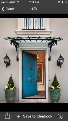 Front door canopy idea