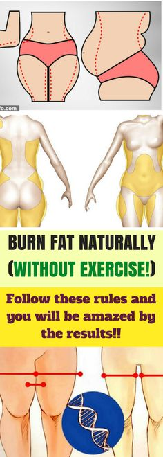 BURN FAT NATURALLY (WITHOUT EXERCISE!) WITH 10 SIMPLE TRICKS