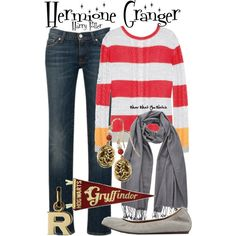 """Harry Potter"" by wearwhatyouwatch on Polyvore"