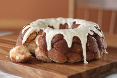 Do yourself a favor and don't bother monkeying around with any other recipes for cinnamon pull-apart bread. They'll go ape for every perfectly glazed bite.