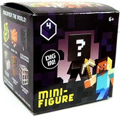 Minecraft Minecraft Obsidian Series 4 Mini Figure Mystery Pack @ niftywarehouse.com