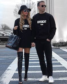 Couple Fashion - His & Hers - Style it with Trix Winter Fashion Outfits, Fall Winter Outfits, Stylish Outfits, Cute Outfits, Classy Outfits, Matching Couple Outfits, Matching Couples, Hot Couples, Stylish Couple