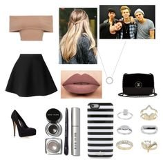 """""""Night Out with 5 Seconds of Summer!"""" by madihemmiings on Polyvore featuring MSGM, Carvela Kurt Geiger, Michael Kors, Bobbi Brown Cosmetics, Kate Spade, Topshop and Chanel"""