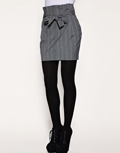 Paperbag Pencil Skirt